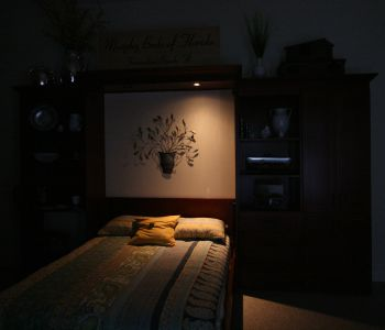 Murphy Beds Of Florida Lighting - Bedroom lights off