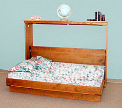 Horizontal Bed Open